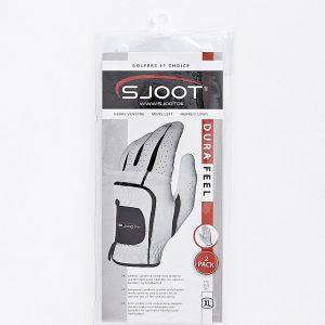 sjoot golfhandske hvid i indpakning