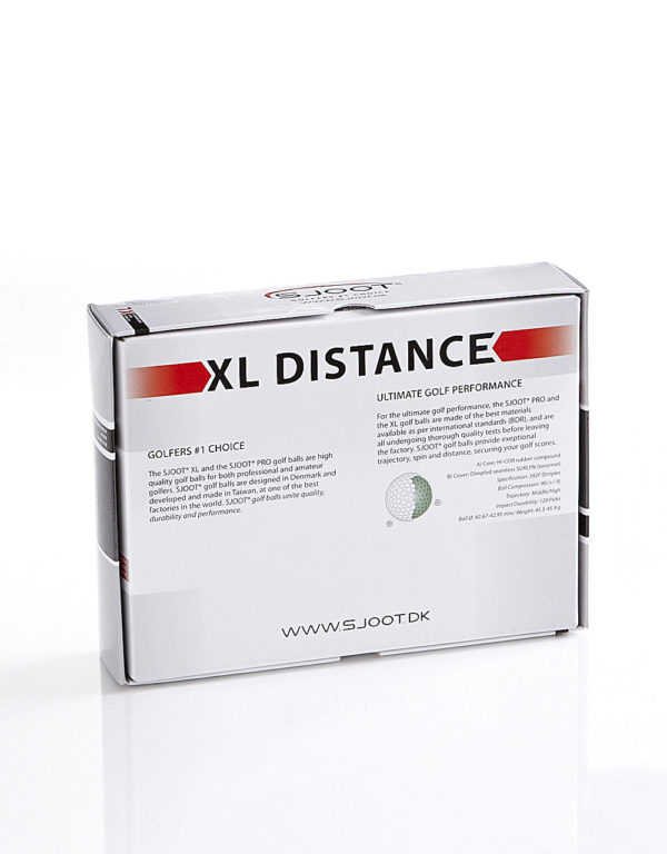 sjoot golfbolde xl distance