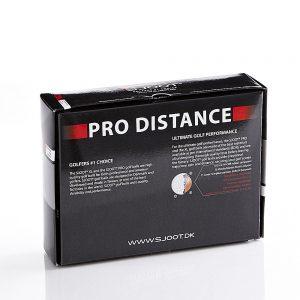 sjoot golfbolde pro distance