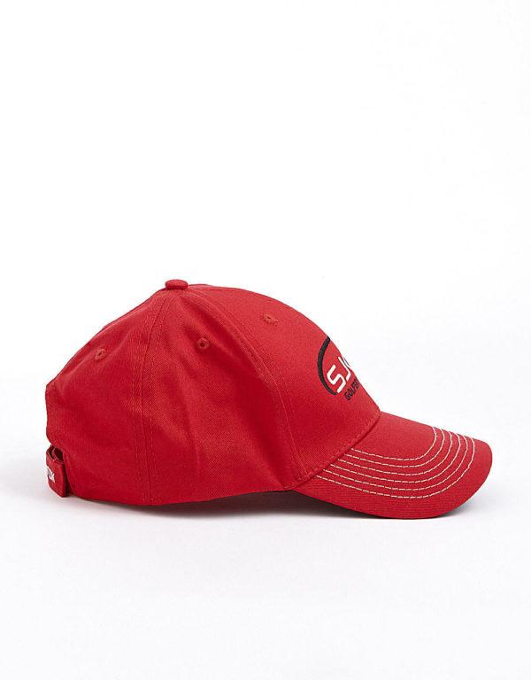 sjoot golfkasket rød