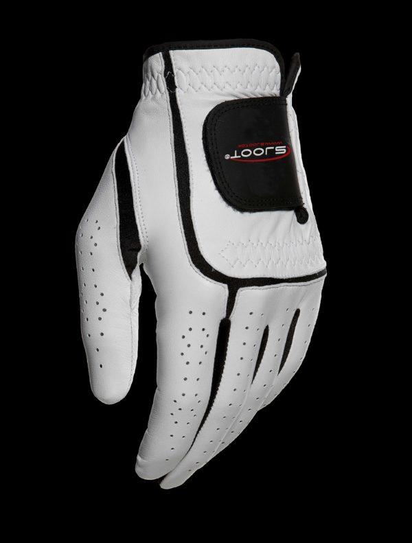 hvid golfhandske forfra